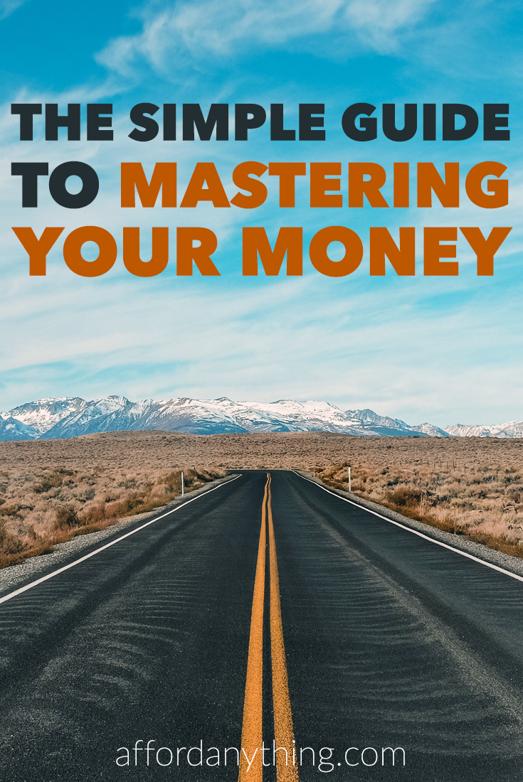 New to the world of mastering your money? No problem. Here's the simple guide on everything you need to know about money mastery summed up in 3 words.